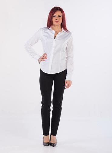 D07 Valle pantaloni leggings in tessuto punto milano elastico modellante